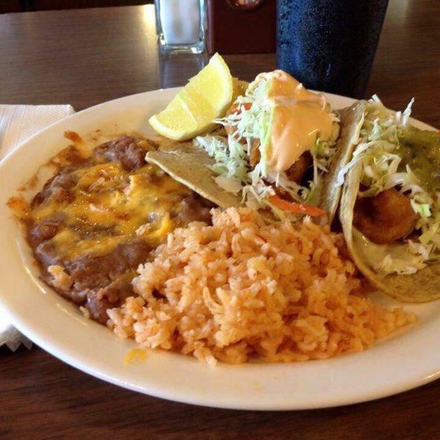 Beer battered shrimp tacos to start your weekend!