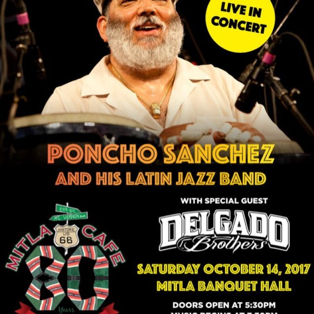 Were celebrating our 80th anniversary with Grammy Awardwinning conguero Ponchohellip